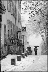 Montmartre sous la neige (VI)