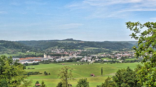 Oberrot in Schwäbischen Wald