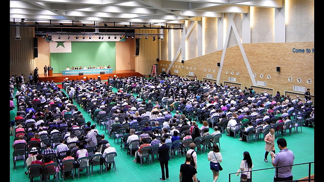 La 102a UKa Seulo 2017-solena inauguro