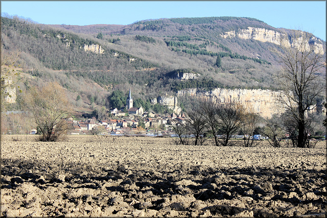 Saint-Sorlin-en-Bugey (01) 7 janvier 2014.