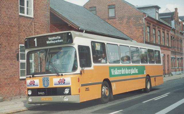 Esbjerg Bybusser 82 (LJ 97 038) - 4 June 1988 (Ref: 69-20)