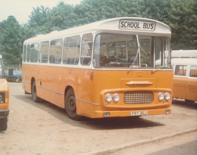 Suffolk County Council FRT 30J at Ipswich - Jun 1980