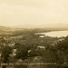 Bird's-Eye View of Loon Lake and Freedom, N.H., ca. 1934