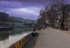 1 (48)a...street...austria vienna ...am graben...bad weather