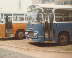 Suffolk County Council JRT 36K at Ipswich - Jun 1980