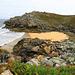 petite plage sauvage dérrière la point de Milier