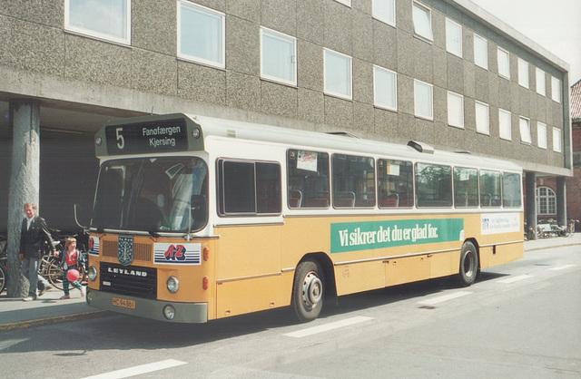 Esbjerg Bybusser 55 (HC 94 861) - 4 June 1988 (Ref: 69-18)