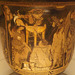 Detail of a Red-Figure Bell Krater with Orestes at Delphi in the British Museum, May 2014