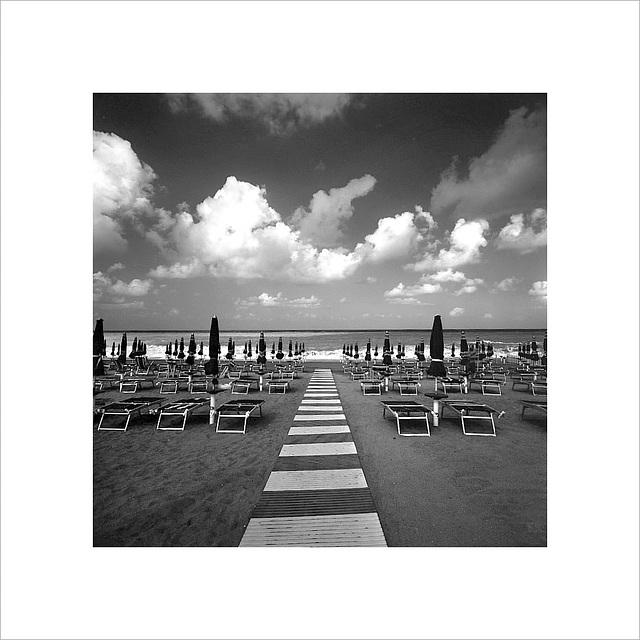 Calabria - Spiaggia del Mar Tirreno - S. M. Del Cedro