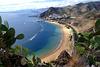 San Andres mit seinem Strand Las Teresitas. ©UdoSm