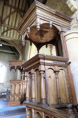 leighton bromswold church, hunts