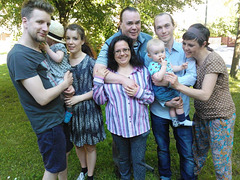 Familio Randehed en Stokholmo