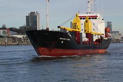 """Frachtschiff """"MEKHANIK KOTTSOV"""" (PiP)"""