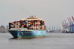 "Containerschiff ""MOL BRILLIANCE"" Hong Kong (PiP)"