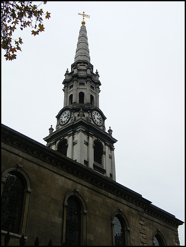 St Giles' church clock