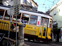 The carousel  of   Tram 28
