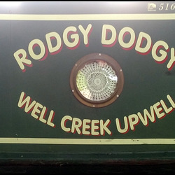 Rodgy Dodgy narrowboat