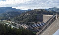Shasta Dam  generating (1125)
