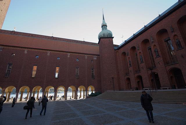 Innenhof des Stadshus