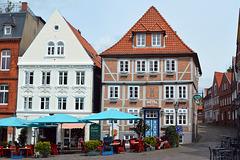 Altstadtflair am Stader Fischmarkt