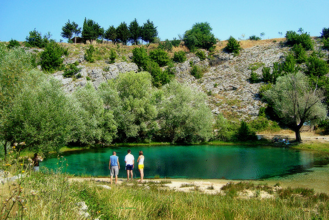Wellspring of the river Cetina