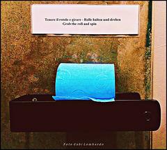 fine toilet paper for blue fans