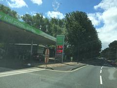 Diesel is cheaper than petrol in my neighbourhood