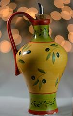 For olive oil                   bokeh