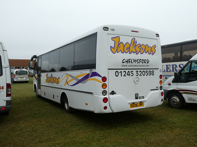 Jacksons Coaches 3 (AE06 JNF) at Newmarket Races - 12 Oct 2019 (P1040797)