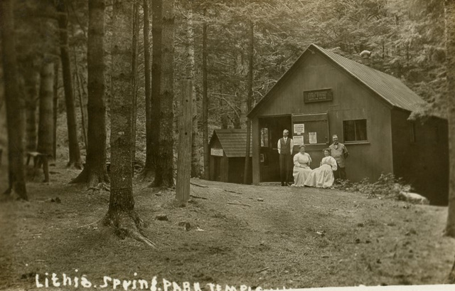 Lithia Spring Park, Temple, New Hampshire