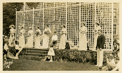 May Day Court, May Day, Lebanon Valley College, Annville, Pa., 1934