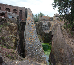 Ethiopia, Lalibela, The Bete Gabriel Raphael Church, Path to Heaven