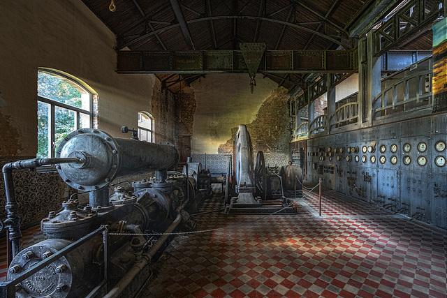 Bois du Luc - the power plant
