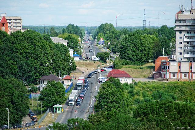Iwangorod - von der Hermann-Festung aus gesehen (© Buelipix)