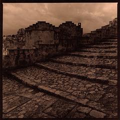 A glimpse of Matera