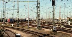 Der Hafen-Bahnhof  Hamburg-Süd