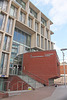 Hastings campus of Brighton University -  Priory Square front entrance - 18.10.2018