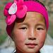 Junge Kirgisin