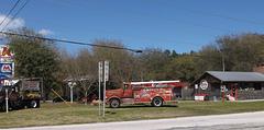 BBQ firemen truck