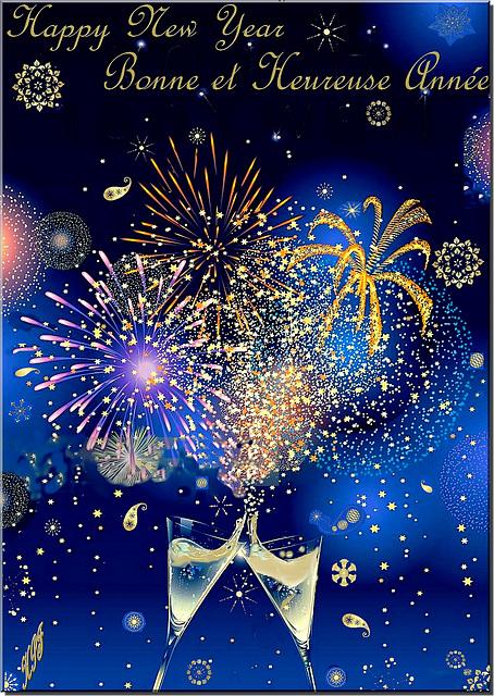 Feliz Año Nuevo-ein frohes neues Jahr