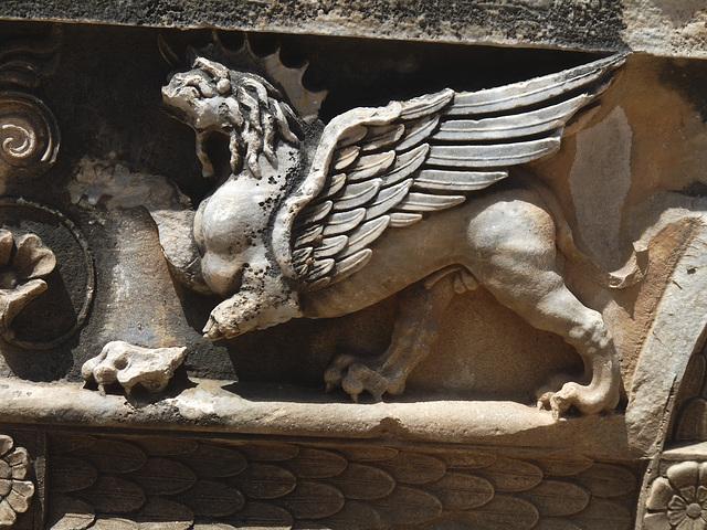 Didyma- Temple of Apollo- Griffin