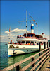 "Raddampfer / Paddle steamer ""Herrsching"""