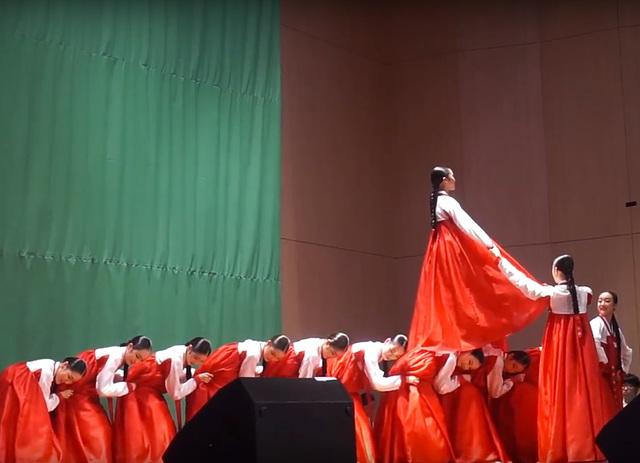 La 102a UK Seulo 2017 - Dancistinoj dum la Nacia vespero