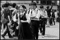Lycéennes et lycéens