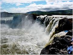 Godafoss waterfall - (521)