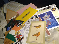 Postcard goodies