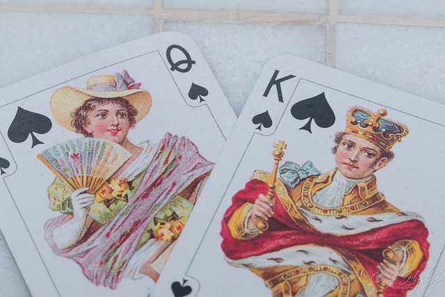 MM playing cards