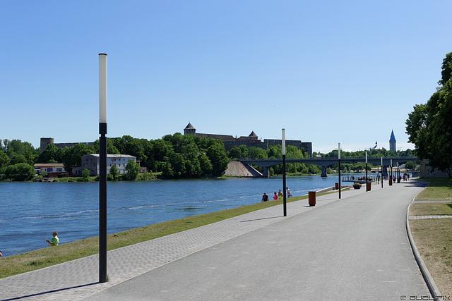 Uferpromenade in Narva (© Buelipix)