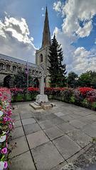 War memorial and All Saints church ~ Holbeach ~ Lincolnshire