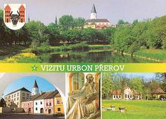 Vizitu urbon Přerov - bildkarto